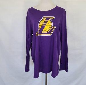 Lakers long sleeve tee
